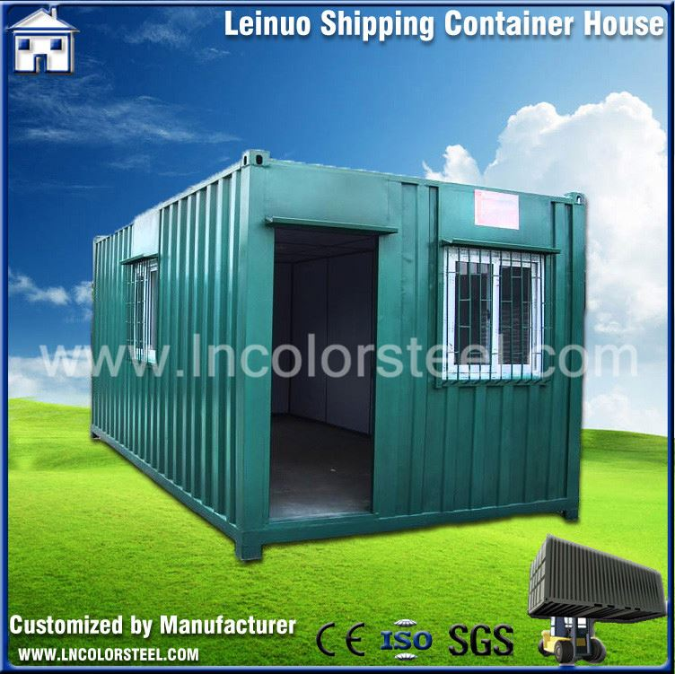 Easy quick assembly modular moveable container house insulated