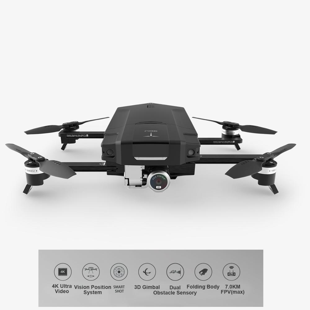 Salange GDU Folding 4K Quadcopter Drone with Vision Position and Obstacle Sensor System 7.0KM Control Distance VS DJI Mavic Pro