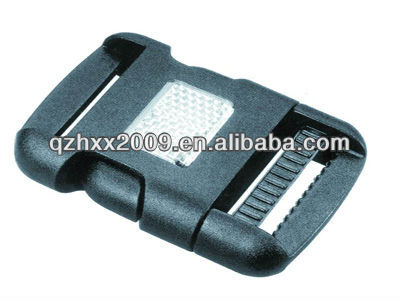 Plastic buckle for bags plastic buckle velcro strap