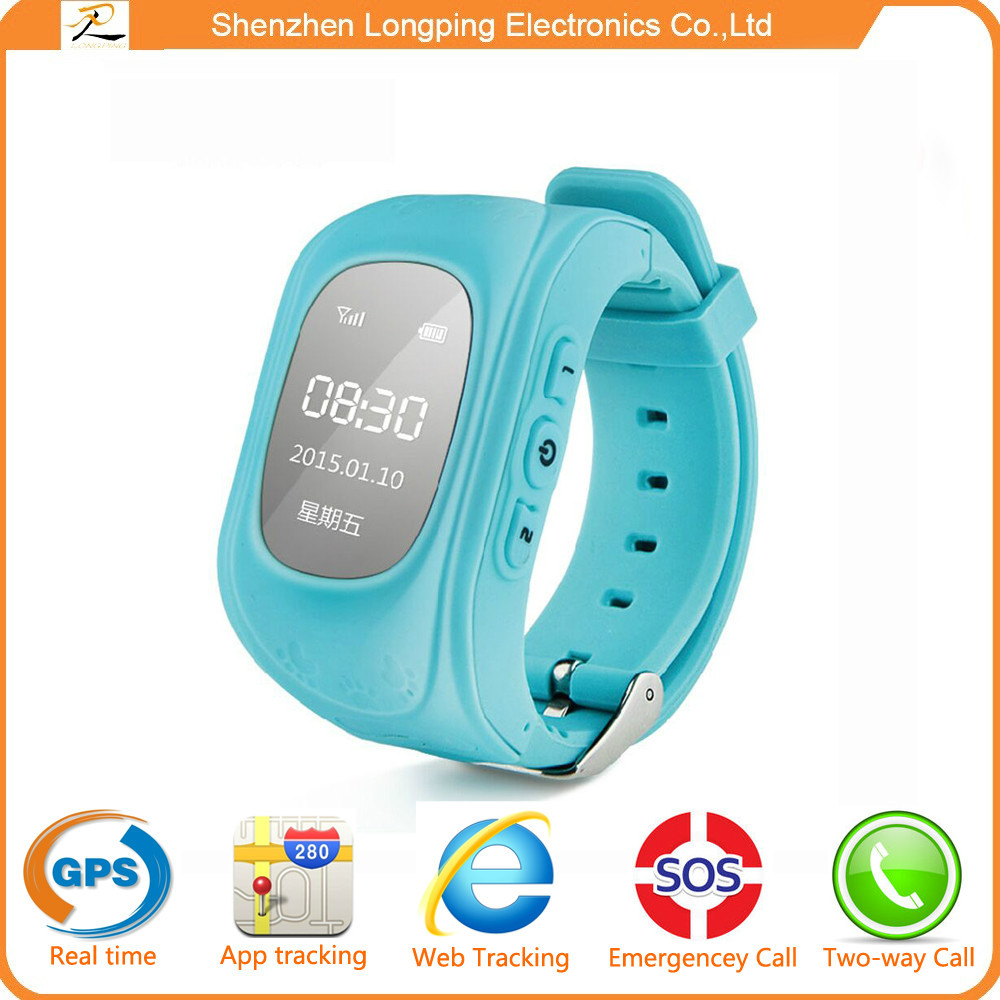 New arrived products from factory smart watch GPS kid watch 3 SOS numbers for kids