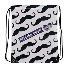 New Products 2017 Polyester Folding Custom Made Cheap White Drawstring Sport Bag