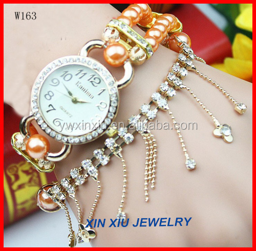 Wholesale Fashionable Crystal Designer Watch at Cheap
