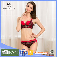 Transparent Bra Panty Set Korean Sex Girls Bra Set Large Size Bra
