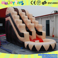 new design long inflatable water slide, blow up water slide, slip up and slide for adult