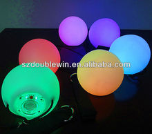promotional gifts LED juggling ball color changing light poi ball