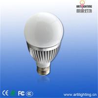 All kinds of dcasting aluminumceramic led candle bulb lighting
