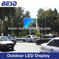 Outdoor street P10 P12 advertising LED display screen, P10 led sign display billboard
