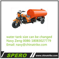 2018 newest Africa adult water carrying truck Water Tank tricycle