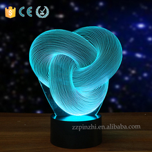 NL87 2016 innovative custom lamps for sale with 7 colors changing