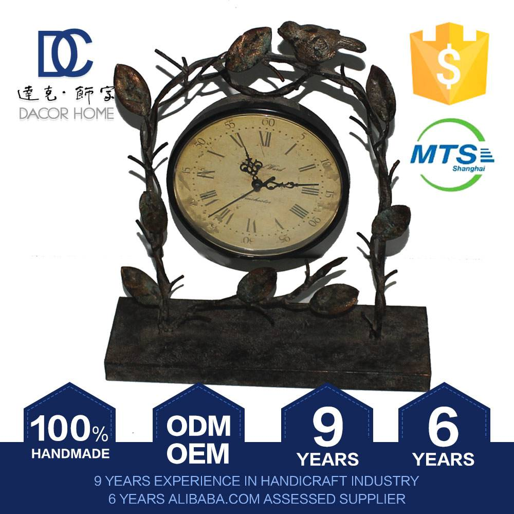 Top Grade Newest Beautiful Decorative Miniature Desk Clock