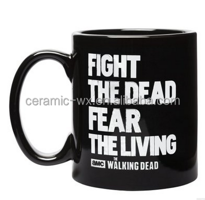 Promotional The Walking Dead Heat Sensitive Color Changing Mug