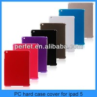 New arrival ultra- thin PC hard case for iPad 5 ipad5 with colorful