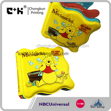 NBCU Certificated Factory Fashion Design Plastic Bath Toys Book for Kids