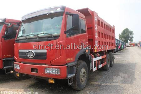 Used/Secondhand FAW dump truck