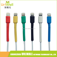 20pcs White Heat Shrink Tubing Ratio 3:1/4:1 Sleeving Tube Set for Headphone/Phone/iPad Data Cable 100mm