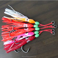 Octopus Skirts Fishing Lures with hook