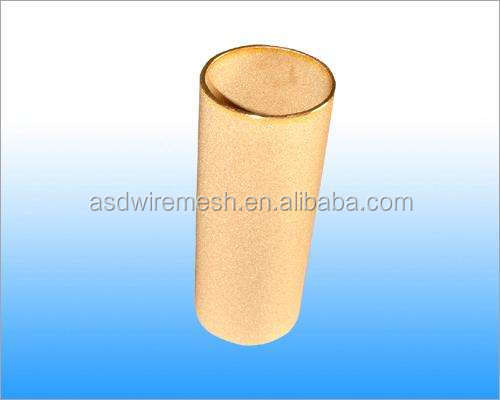 Sintered metal microporous stainless steel dust filter(factory)