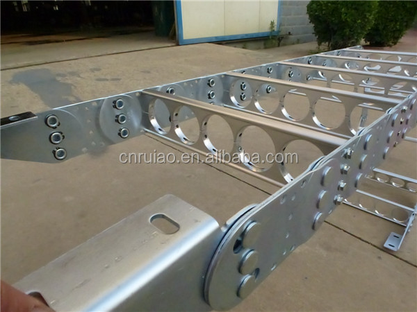 RUIAO steel cable carrier TL115 steel drag chain cable management