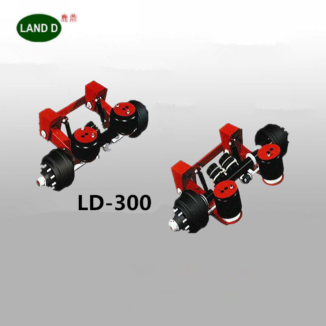 Heavy duty spring trailer air suspension compressor