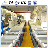 Automatic gantry electroplating equipment spray electroplating equipment