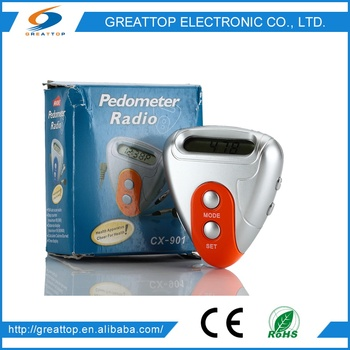 China Wholesale Market Agents step and calorie counter PDM-901