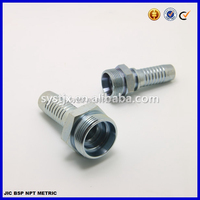 24 degree cone CEL hydraulic rubber hose male fitting