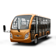 ISO approved 14 electric sightseeing bus for passenger low speed