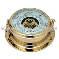 Nautical Barometer with open dial