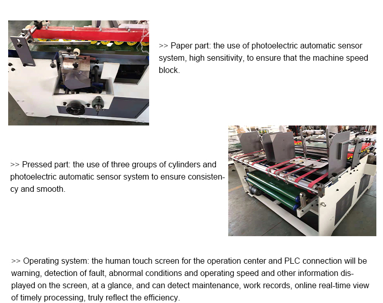 corrugated cardboard Automatic fully automatic box stitching machine
