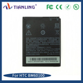 Standard phone BM60100 wholesale 1850mah 3.7 V for Htc
