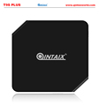 QINTEX Factory price 2016 newest T9S PLUS Android 5.1 Lollipop smart TV Box Quad Core Amlogic S905 OTT TV Box