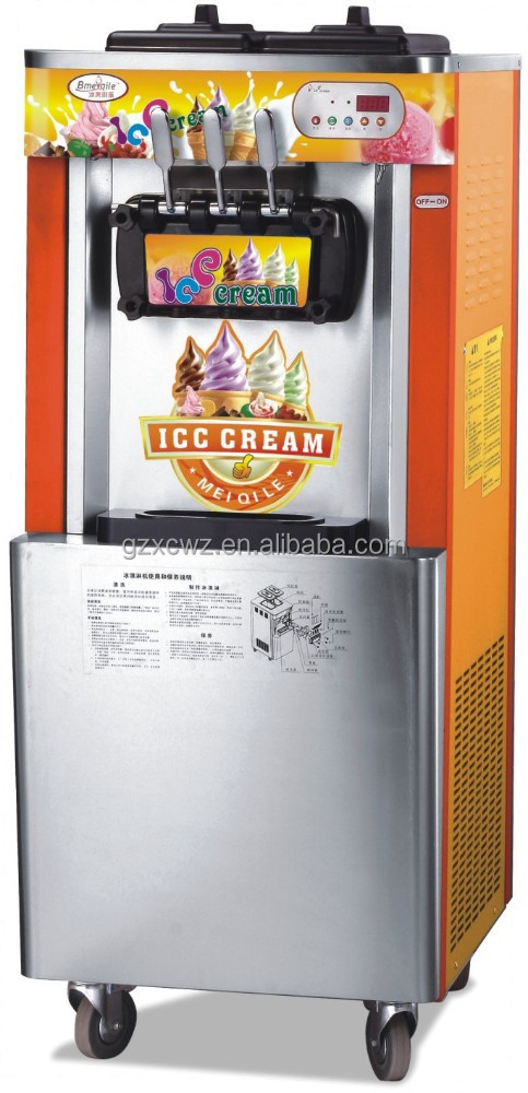 52L/H can make oreo ice cream soft ice cream machine