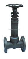 Forged Steel Bellow Sealed Globe Valve Flanged / Threaded / Welded