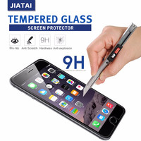 grid invisible cool orange sparkle diamond gold mirror effect color smartphone tempered glass screen protector for iphone 6