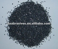 synthetic diamond of black silicon carbide grains for grinding material