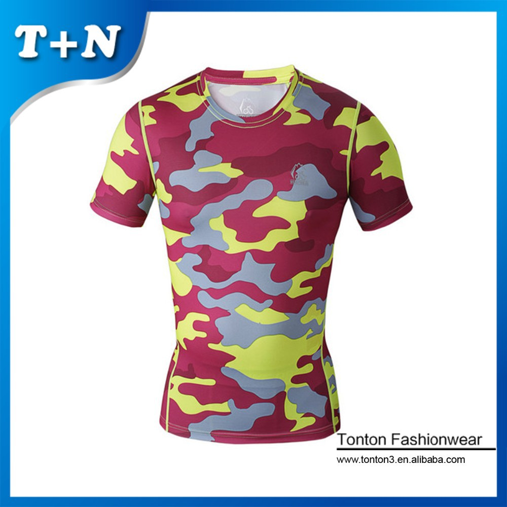 Custom design your own fitness wear compression shirt for Design and buy your own shirt
