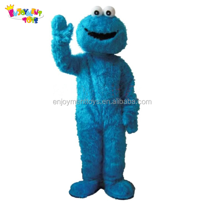 adult costume cookie monster mascot costume for sale