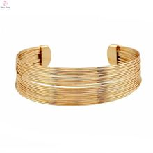 Wholesale 18k elephant hair gold models bangle bracelet