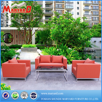 uphostered garden furniture outdoor fabric sofa of deep seating set
