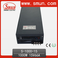 Professional Manufacturer 1000W LED Driver 15V 66A DC Output Power Supply