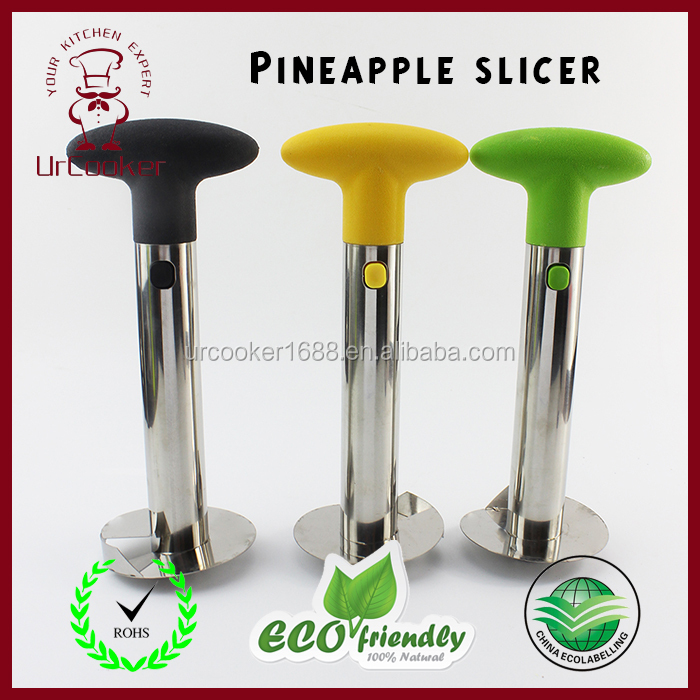 Factory Wholesale Fruit Tool Stainless Steel Pineapple Corer, Pineapple Peeler, Pineapple Slicers