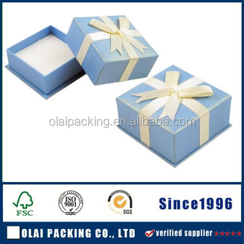 2016 hot sale supplier accept custom gift packing paper box