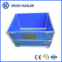 Factory direct sale welded steel storage container heavy duty wire basket