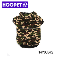 Double layer camouflage dog coat dog sweaters xxl