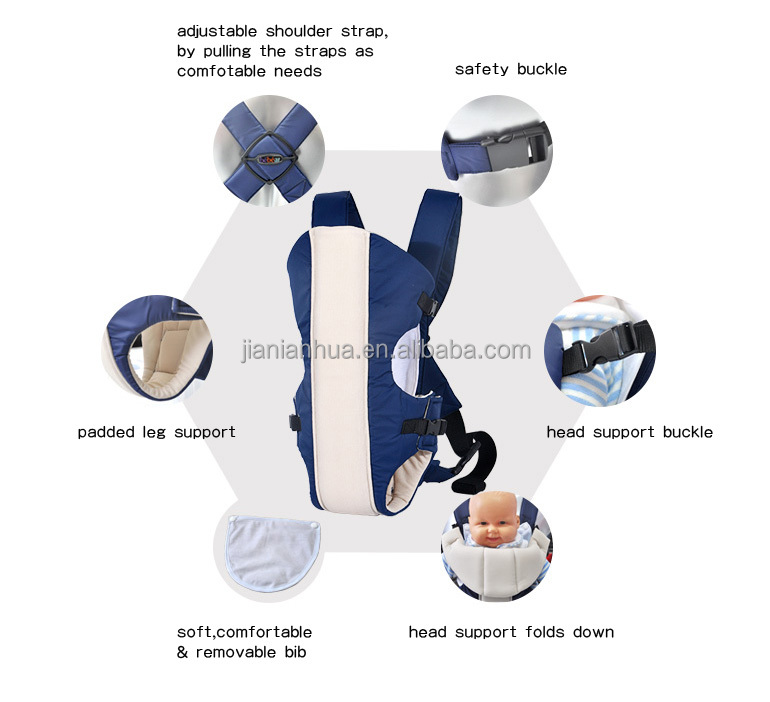 2015 new design 100%cotton ultimate baby carrier approved by EN certificate with cheaper price