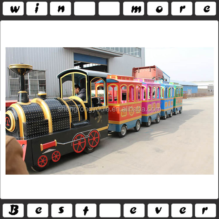 2016 factory price shopping mall kids electric trackless train for sale