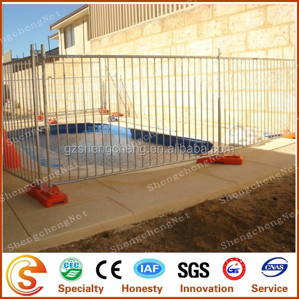 Removable Pool Fence Site Privacy Public Safety Temporary Fence