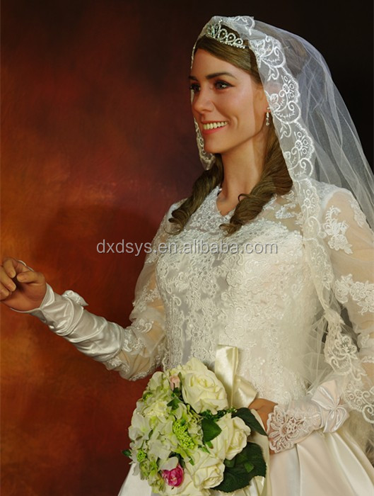 William Prince And Kate Princess Lifelike Full Size Silicone Wax Figure