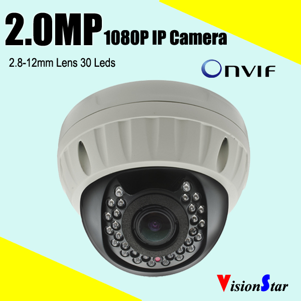 Full hd <strong>1080p</strong> 2mp ip camera with cmos sensor sony imx322 varifocal 2.8-12mm lens onvif D/<strong>N</strong> vision