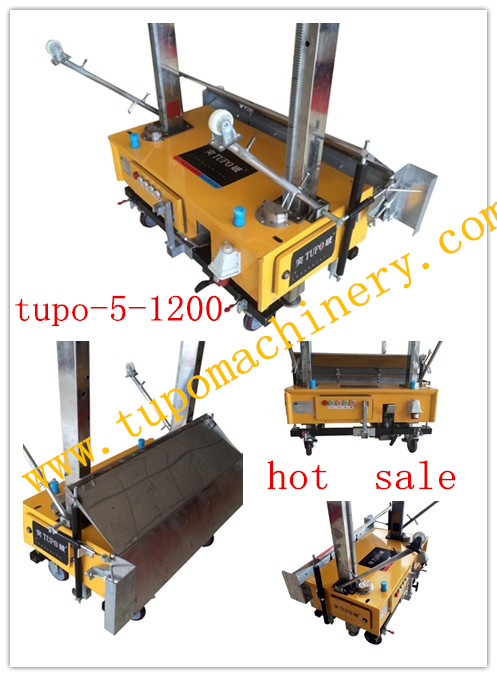 new models automatic new style automatic gypsum plastering machine with cheap price(tupo-5-1200)